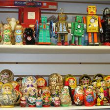 russian matroshka dolls and robots